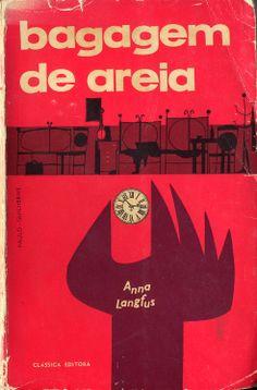 Bagagem de Areia - Anna Langfus | Capa de Paulo-Guilherme