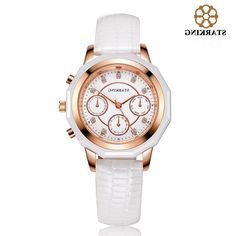 38.58$  Buy now - https://alitems.com/g/1e8d114494b01f4c715516525dc3e8/?i=5&ulp=https%3A%2F%2Fwww.aliexpress.com%2Fitem%2FBL0961-Luxury-Brand-hub-Watches-Female-Leather-Strap-Dress-Wrist-Watches-for-Women-Calendar-Waterproof-montre%2F32658054876.html - STARKING Luxury Ladies Quartz Watches Leather Dress Gold Wrist Watches for Women Bracelet Watch BL0961 montre marque luxe femme