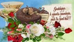 narodeninové priania Birthday Cake, Desserts, Food, Tailgate Desserts, Deserts, Birthday Cakes, Essen, Postres, Meals