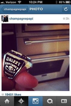 Kentucky Gave Drake A National Championship Ring, Because Kentucky Wants You To Hate Them