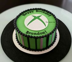 Xbox themed cake