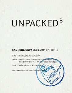 Bude Samsung Galaxy S5 predstavený 24. februára v Barcelone, priamo na MWC 2014