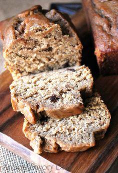 Wheat-Free Dark Chocolate Chip Banana Bread