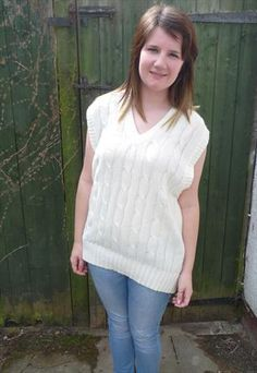 Arran Knit Tank Top/Pullover £18