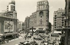 Plaza de Callao, Madrid | 1954