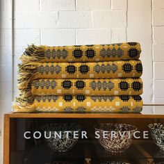 Labour and Wait Counter Service, Unit 2, 29-32 The Oval, London.   Featuring our Welsh Tapestry Blanket.