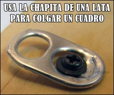 #chapita#lata#cuadro#manualidades