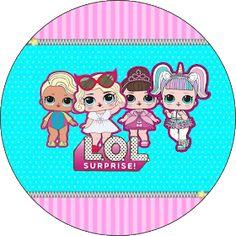 Fiestas Personalizadas Imprimibles: Topper LOL para imprimir Gratis Lol Doll Cake, Mermaid Birthday Cakes, Surprise Cake, Doll Party, Topper, Lol Dolls, Kids Rugs, Owl Bird, Wall Papers