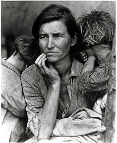 Migrant Mother, Nipomo, California by George Eastman House, via Flickr