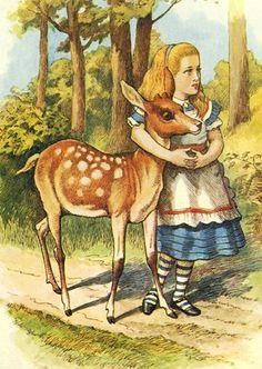 Alice in Wonderland illustration | John Tenniel