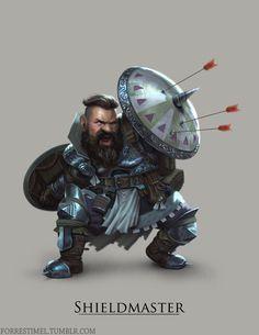 Shieldmaster by ForrestImel.deviantart.com on @DeviantArt