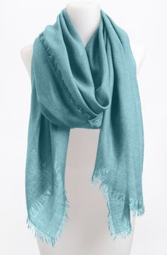 A lovely cashmere wrap is a timeless staple