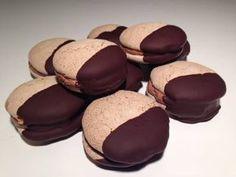 Komtesse vafler – nøddevafler med chokoladesmørcreme