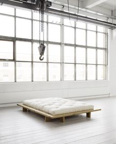 Futon Couch can easily be used as a couch for an office or den, and since they fold out, can transition into a sleep space easily.