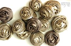 Rolled Ribbon Rose Video Tutorial
