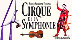 SSO Cirque de la Symphonie at the Opera House--awesome show and our cheap seats to the side of the stage were perfect