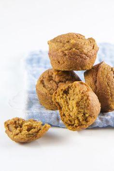3 Fall Blender Muffins for Baby + Toddler