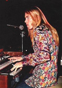 Gregg Allman, The Warehouse, New Orleans, by Sidney Smith