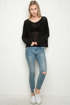 Brandy ♥ Melville | Francine Sweater - Just In