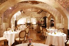 Les Terraillers | Restaurant, Biot, France Delicious food, friendly staff. Michelin star restaurant that works even with Children. #Biot #restaurant #recommendation Michelin Star, Table Settings, Yummy Food, Restaurant, Table Decorations, France, Children, Home Decor, Young Children