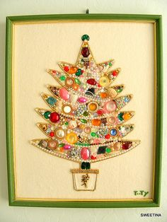 Jeweled Christmas Tree.
