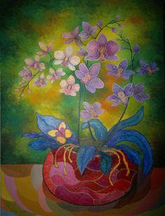 "Saatchi Art Artist Stefan Silvestru; Painting, ""70th Birthday"" #art"