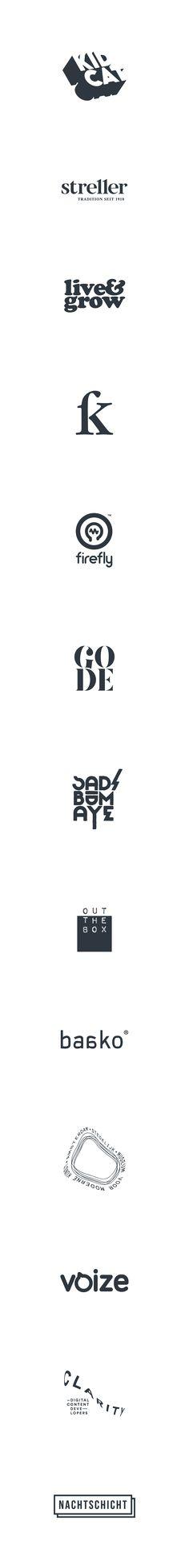 Logos 2014/2015 on Behance