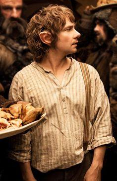 Martin Freeman makes a wonderful Bilbo.