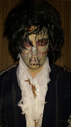 Billy Butcherson makeup | Halloween! | Pinterest | Makeup