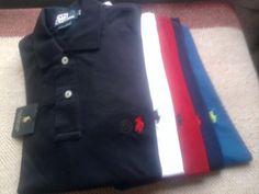 Ralph Lauren Men's Polo T-Shirt Small Pony Custom Fit