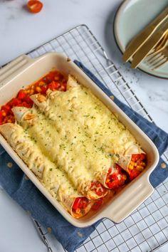 New Recipes, Vegetarian Recipes, Cooking Recipes, Healthy Recipes, Healthy Food, A Food, Good Food, Yummy Food, Kiwi