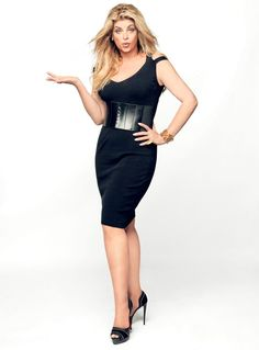 Kirstie Alley love her. You have to love her for all the effort of losing her weight again.....