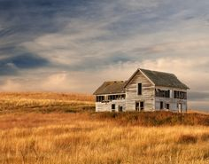 An abandoned prairie house on the Palouse in southeastern Washington State.