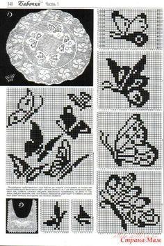 This Pin was discovered by Каз Knitting Machine Patterns, Crochet Stitches Patterns, Knitting Charts, Cross Stitch Patterns, Crochet Curtains, Tapestry Crochet, Crochet Doilies, Crochet Cross, Crochet Chart