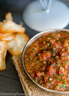 The Best Homemade Restaurant Style Salsa - Mommyhood's Diary