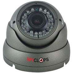 Spyclops 720p Ahd Varifocal Dome Camera (gray)