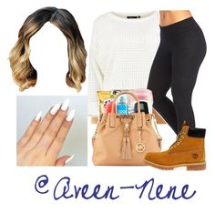 """""""Gm pretty ppl☀"""" by qveen-nenee ❤ liked on Polyvore featuring Marika and Timberland"""