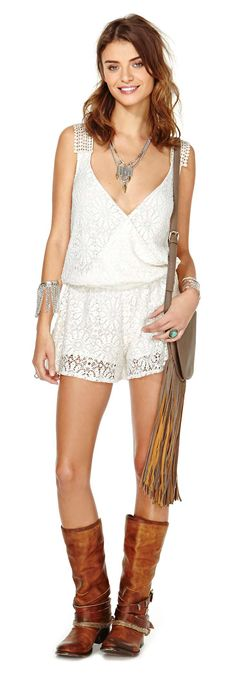 Lace Romper. Pinned by Cindy Vermeulen. Please check out my other 'sexy' boards.