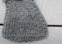 Choose the best decrease for your knitting pattern... (slip-slip-knit decrease shown)