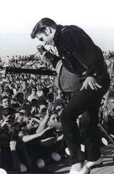 Elvis Presley Portrait Poster