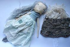 elegant special Willa doll  21ish handmade cloth doll