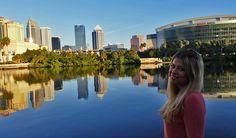 Tampa, Florida, ist eine Stadt, die einiges zu bieten hat. Hier haben wir die letzten Sonnenstunden am Fluss genossen.