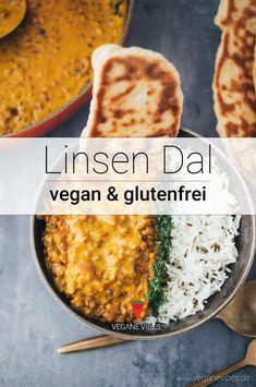 einfaches Linsen Dal (30 Minuten)