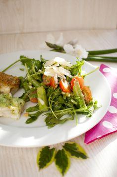 Low Carb mediterraner Spargelsalat – Low Carb Köstlichkeiten