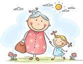 kreslená babička - Hledat Googlem