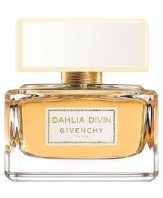 Dahlia Divin  Givenchy for women.. - Sambac jasmine note on a woody-chypre base. Mirabelle plum is at the opening, leading way to the heart of Sambac jasmine and white flowers. The base is woody, made of sandalwood, vetiver and patchouli.
