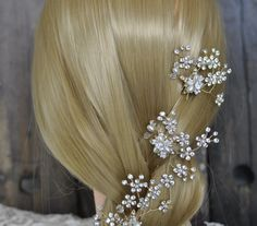 Set of 3 Rhinestone Hair Pins O914  #pin #hair #crystal #rhinestone #Accessories #wedding #destination #hairband #theknot #trendy