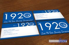 Zeta Phi Beta 1920 business cards. In 1920 the  Finer Women  began. Show off your Finer with this piece of zeta phi beta merchandise. Perfect for yourself and for gifts