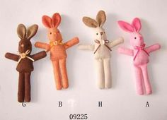Bunny Dolls - how cute are these little hoppers!