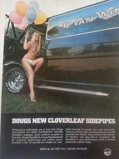 Vintage Van Sidepipes